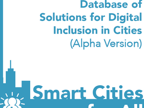 Solutions for Digital Inclusion in Cities