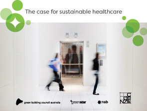 The case for sustainable healthcare