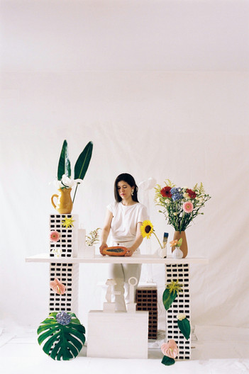 Artist Pau Lart paints freedom, order, color, and feminism