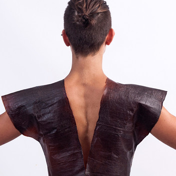 Surzhana Radnaeva Creates Garments from Biomaterials as Fossils of the Future