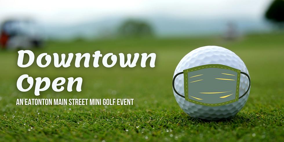 Downtown Open: An Eatonton Main Street Mini-Golf Event