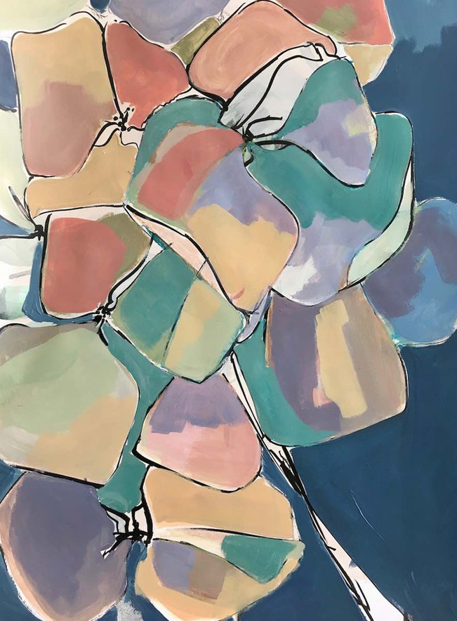 Hydrangea Pastel