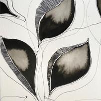 Tiosk allover leaf print