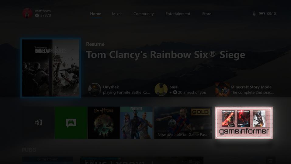 Xbox App Screen.png