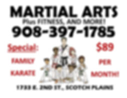 MARTIAL ARTS SIGN NEW DOJO APRIL 25 2019