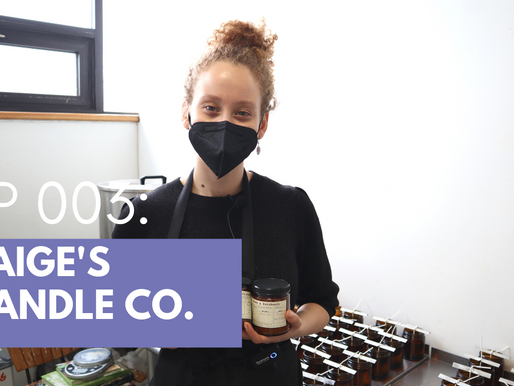 Handmade Vegan Candles in Brooklyn: Paige's Candle Co. | GoingLocalNYC | ThroughTheBoros