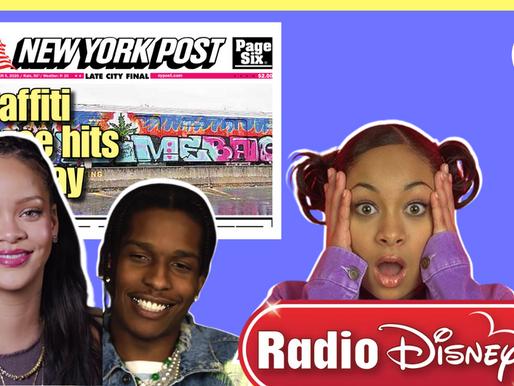 MTA's Trains got Tagged, ASAP Rocky/Rihanna dating, & Goodbye Radio Disney - SLNYC News Ep. 004