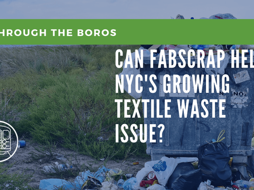 Can FabScrap Help NYC's Growing Textile Waste Issue?