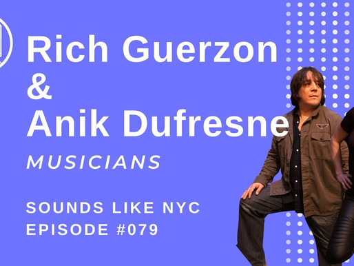 Once a Creative, Always a Creative: Rich Guerzon & Anik Dufresne - SLNYC Ep. 078