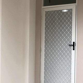 White grille hinged fly door.jpg