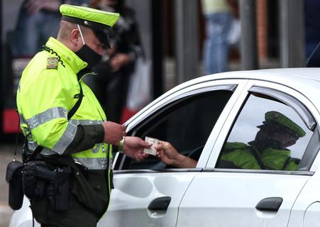 ¿Cuáles son las infracciones de tránsito más comunes en Colombia?
