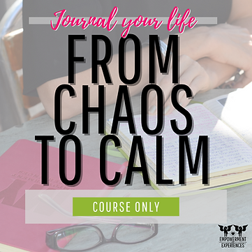 From Chaos to Calm COURSE ONLY square 1.