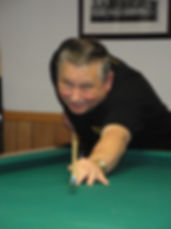 Cue Chief shooting pool