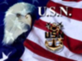 Flag, Eagle, Master Chief anchor