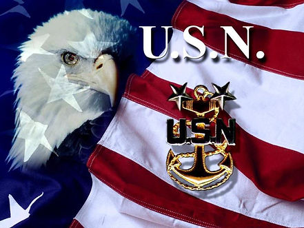 Flag, Eagle, Master Chief anchor