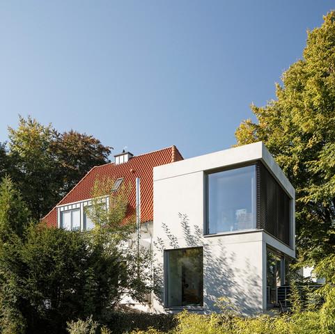 Anbau eines Einfamilienhauses, Bielefeld