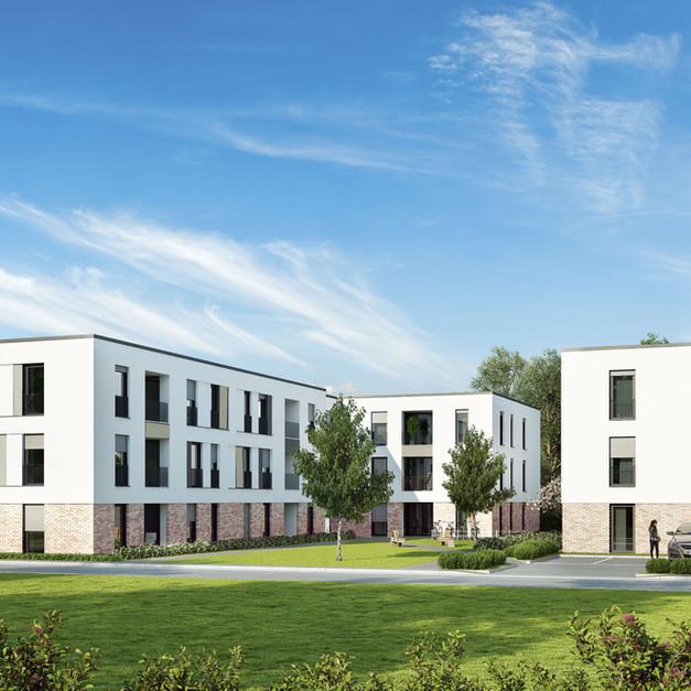 Neubau von 33 Wohnungen, Schloß Holte-Stukenbrock