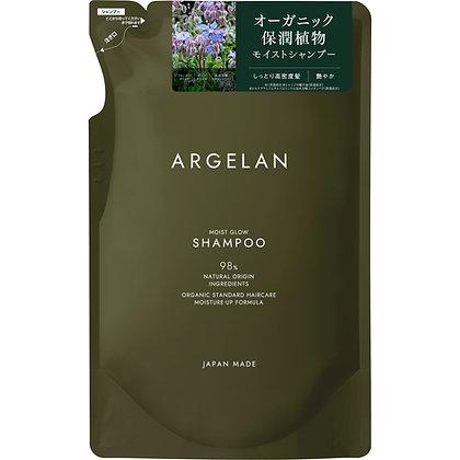 ARGELAN 水耀潤澤植萃無矽靈洗髮精 補充包 400ml
