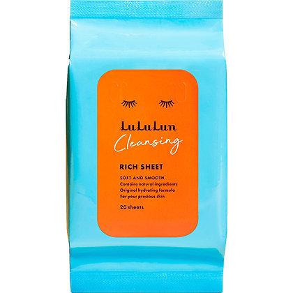 LuLuLun 柔膚卸妝紙巾 20枚