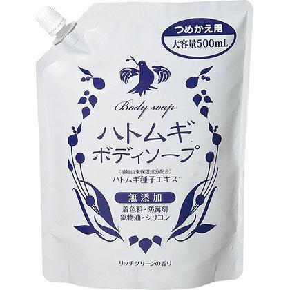 cocokarafine 薏苡仁保濕沐浴乳 補充包 500ml