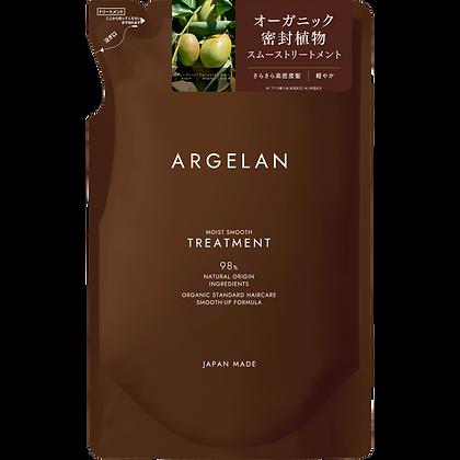 ARGELAN 柔順潤澤植萃無矽靈潤髮乳 補充包 400ml