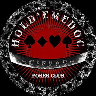 hold'emedoc poker club logo world of jamin cissac medoc