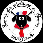 laines des artisans de france logo patch