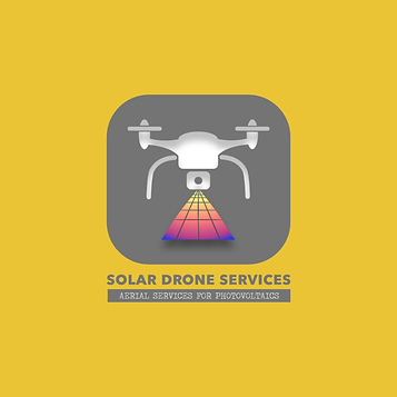 Solar drone services logo world of jamin