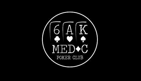 hold'emedoc poker club logo bleu world of jamin