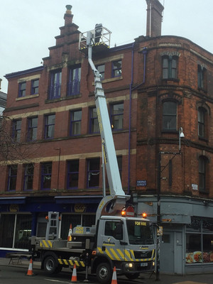 HIGH ACCESS ROOF REPAIRS IN MANCHESTERS NORTHERN QUARTER