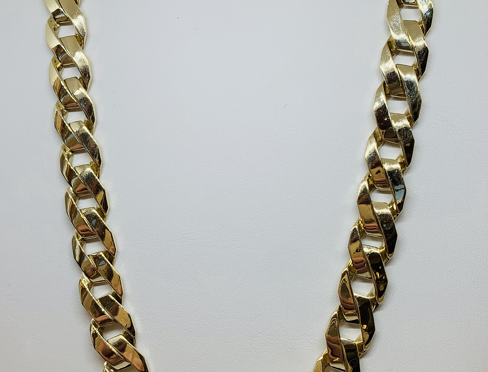 10K YELLOW GOLD SUPER LINK CHAIN