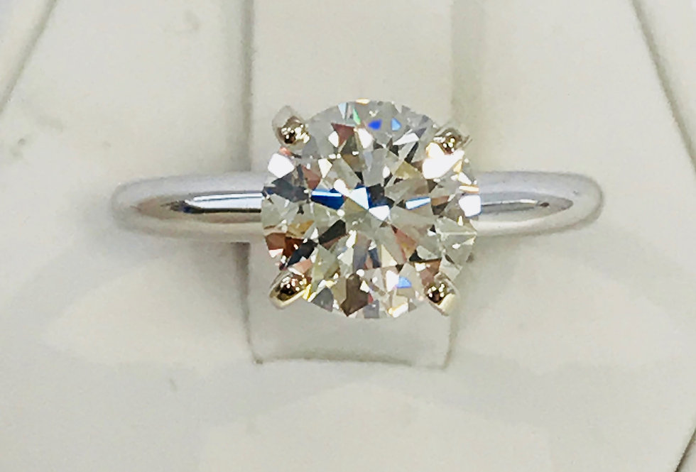 2.00CT DIAMOND ENGAGEMENT RING 14K WG