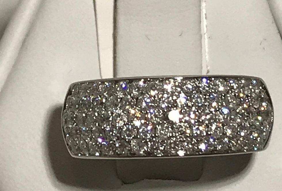 1.00TCW DIAMOND RING 10K WG