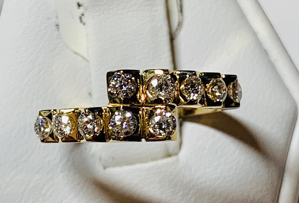 0.50TCW DIAMOND RING 14K YG