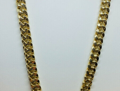 10K YELLOW GOLD MIAMI CUBAN LINK CHAIN