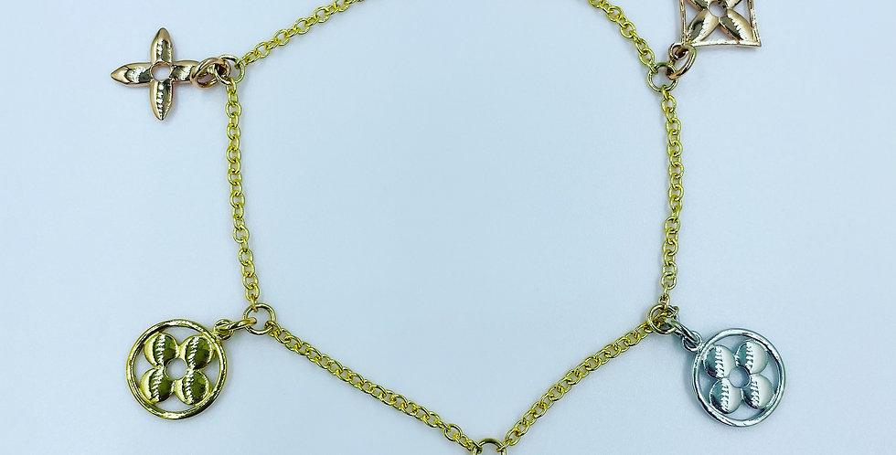 Louis Vuitton Custom Style Bracelet