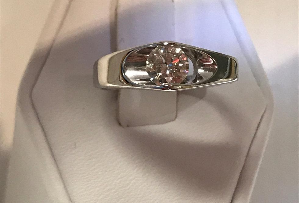 0.56CT CENTER DIAMOND RING