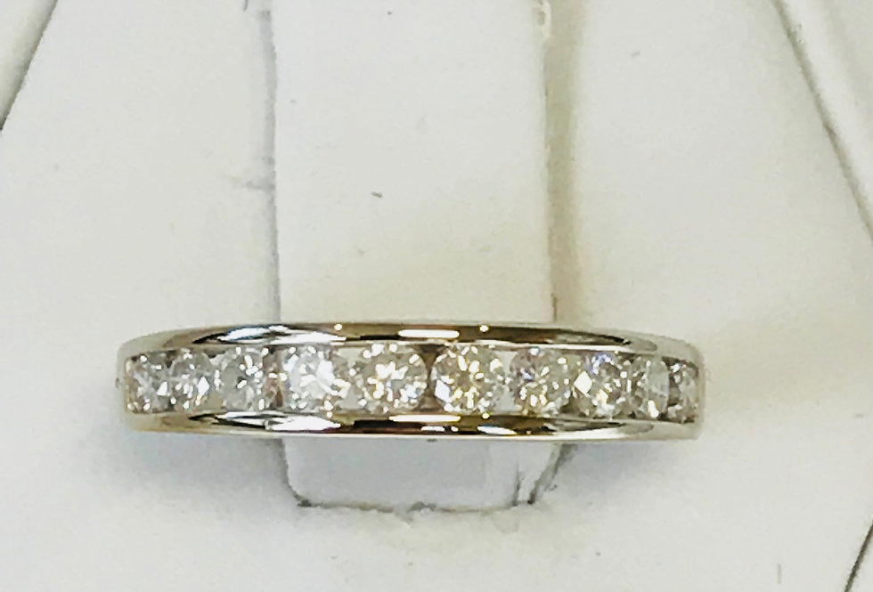 0.50TCW DIAMOND RING 14K WG