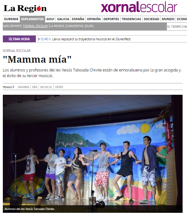 MAMMA MIA La Region