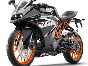 KTM RC 125 coming in May
