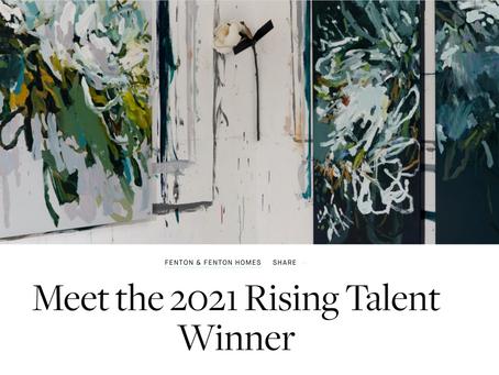 Fenton & Fenton 2021 Rising Talent Winner