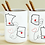 Thumbnail: Set of 2 - Best Friends Forever Never Apart BFF Long Distance Gift For Friend
