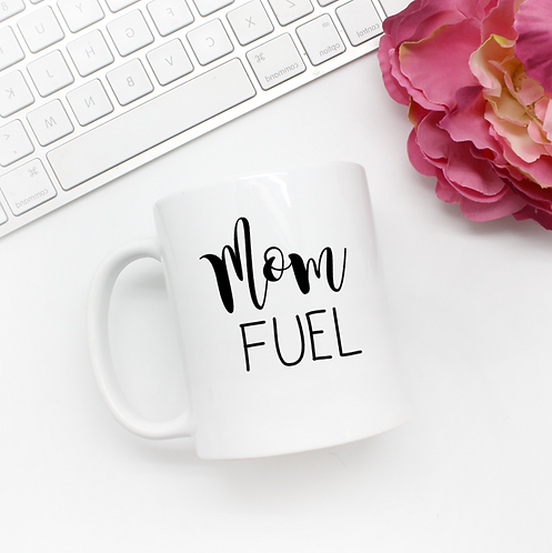 Mom Fuel - New 11oz Coffee Mug, Her Cup, Baby Shower, Gift For Her
