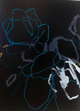 MIRROR OF THE NIGHT | 122 x 91cm | Acrylic/Oil on Canvas