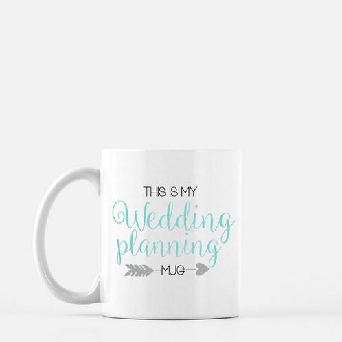 My Wedding Planning Mug | Engagement Gift | Coffee Mug | Engagement