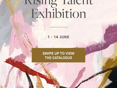 F&F Rising Talent Group Show LIVE 8amAEST tomorrow!!!