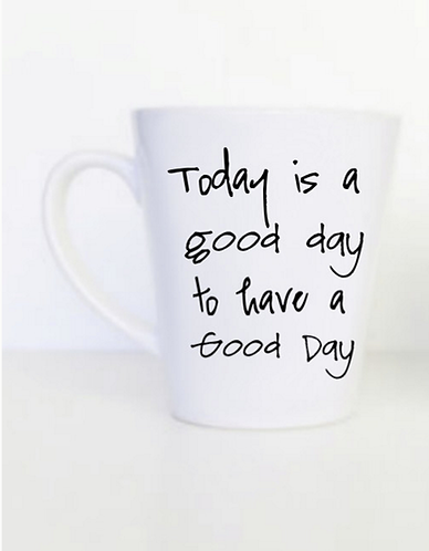 Good Day Latte Mug