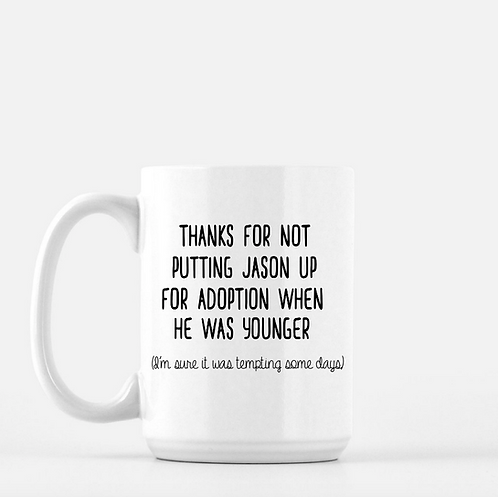Thanks For Not Putting My Boyfriend/Husband Up For Adoption