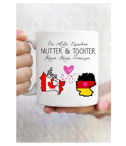 Canadian German Mother & Daughter Mug