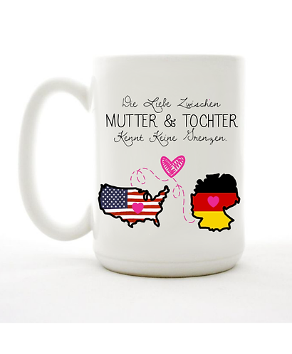 German Mother & Daughter Mug